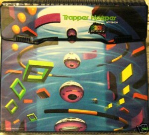A funky early 90&#039;s style Trapper Keeper